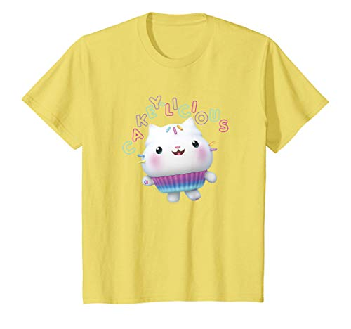 Kids Gabby's Dollhouse Cakey Cat Cakey-Licious T-Shirt