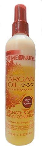 Creme Of Nature Argan Oil Leave-In Conditioner 8oz