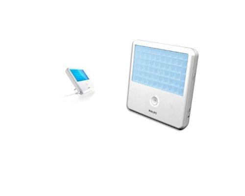 Lampada Golite blu luminoterapia a timer e variatore d intensità