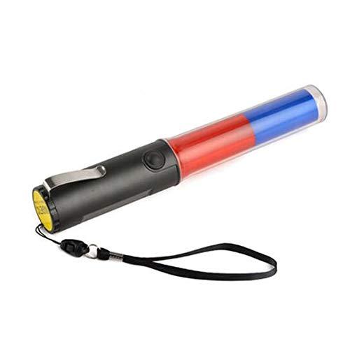 Mastiff m260br Traffic Contrôle aimant multifonctions Bleu 3 x AA lumière rouge 3 LED lampe torche lampe Signal Lightbar Baguette de sécurité Beacon