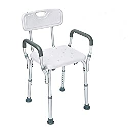 The Health Line Tool-Free Assembly Shower Chair