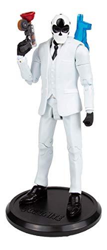 McFarlane, Statuetta – Fortnite – Wild Card Black Action Figure – 18 cm, black, white, taglia unica, (JAN197801)