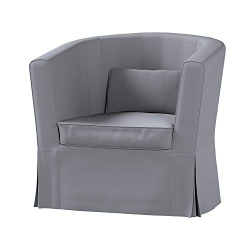 Dekoria Ektorp Tullsta Sesselbezug Sofahusse passend für IKEA Modell Ektorp Slade Grey