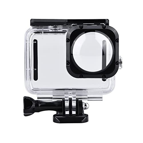 40 m buceo carcasa protectora impermeable marco accesorio conjunto para 9 lentes máximas