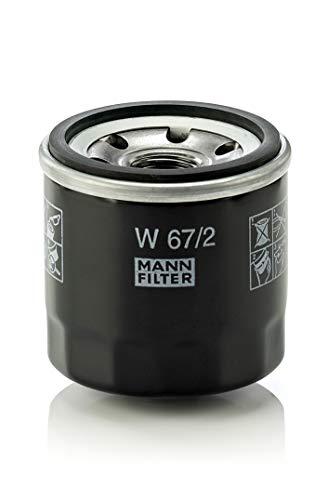 Original MANN-FILTER Ölfilter W 67/2 – Für PKW und Nutzfahrzeuge