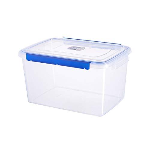 Nanxi Organizador armarios Cocina Comida no ocupará más Espacio del Necesario en la Nevera para almacenar Peces,Carne,Verduras y más Caja de Almacenamiento para frigorífico Color Transparente