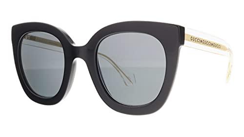 Gucci gafas de sol GG0564S 001 gafas de sol de las Mujeres Negro gris tamaño de la lente 51 mm