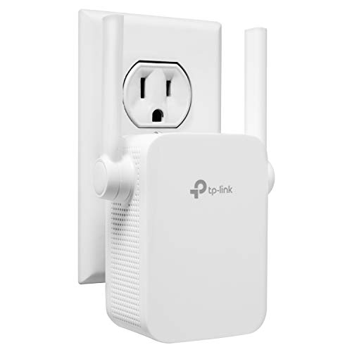 TP-Link N300 WiFi Extender,Covers Up to 800 Sq.ft, WiFi Range Extender supports up to 300Mbps speed, Wireless Signal Booster and Access Point for...