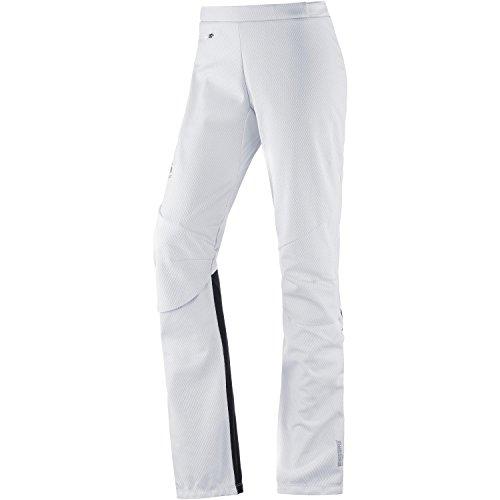 Odlo Frequency 2.0 Wind Stopper Pantalons Femme, Blanc, XL