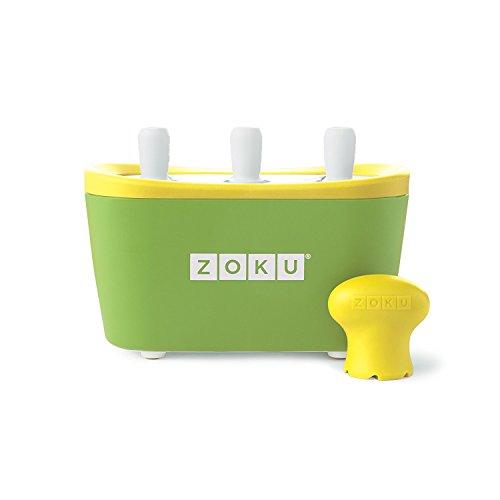 Zoku - 3 Quick Pop Maker voor Instant Ice - Groen