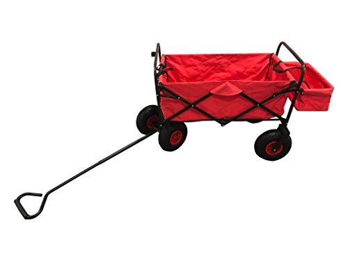 Dio Handwagen, Bollerwagen, Leiterwagen,Einkaufswagen,Transportwagen für zum Bsp. Ostern, Vatertag, Spazieren, Campen, Picknick, Wandern