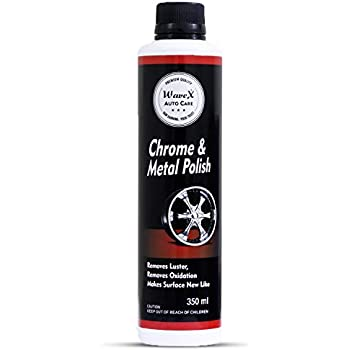 Wavex® Chrome and Metal Polish 350gm For Chrome, Copper, Brass, Bronza, Gold, Nickel and Stainless Steel. All Metal Cleaner, Polisher and Protectant.Removes oxidation and discoloration.