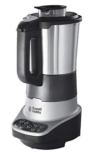 Russell Hobbs – Robot de cocina 2 en 1 (Licuadora y Máquina para hacer Sopas, 1200W, Inox, 1,75l, Gris) -ref. 21480-56