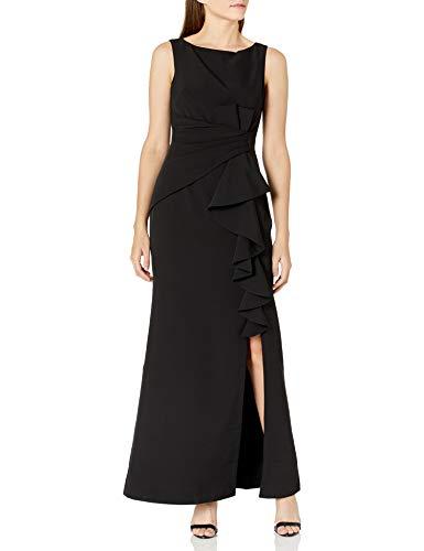Eliza J Women's Ruffle Front Formal Dress, Red, 24W