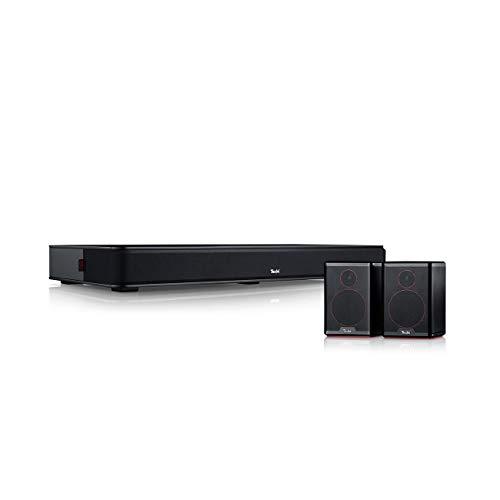 Teufel Cinedeck Surround 5.0-Set Schwarz Sounddeck Dynamore HDMI Bluetooth Musik