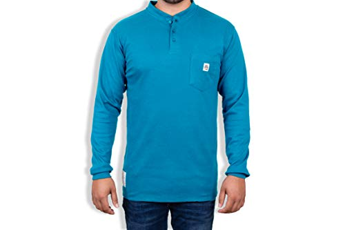 Fire Resistant 7 oz. Cotton Long Sleeve T-Shirt - FR Tee Shirt - FR T-Shirt Defies Melting, Dripping, After-Burning – Fire Retardant Clothing for Electricians, Welders, More by Ur Shield. Buy it now for 34.99