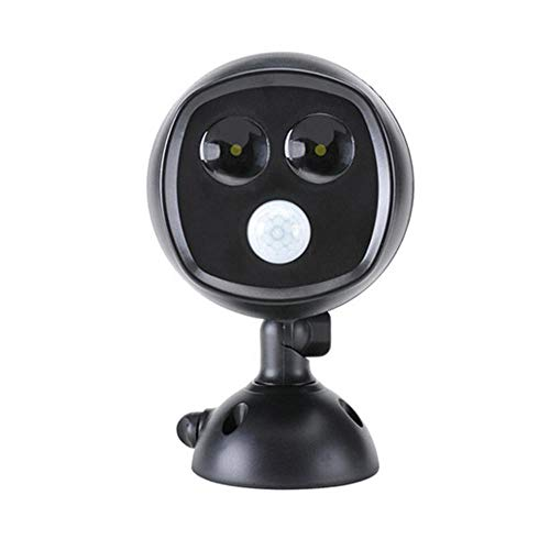 360度回転ソーラー人感センサーライトDL-90331