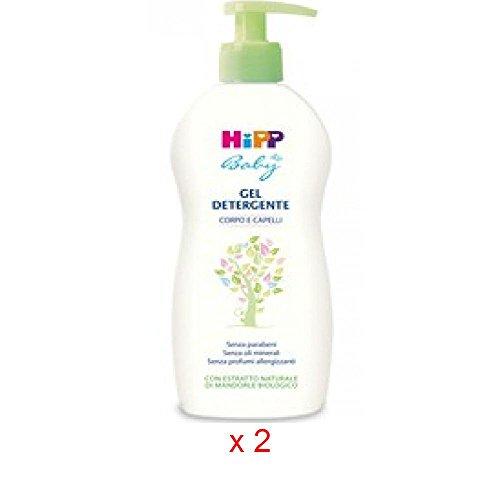 HIPP Baby Gel Detergente corpo e capelli 400 ml,Offerta quantità:2