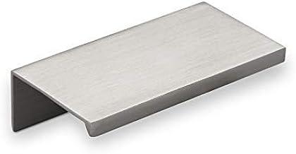10 x Meubelgreep Searl Lengte 70 mm roestvrij staal optiek Greeplijst van SOTECH