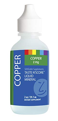 Taste N' Score Liquid Ionic Copper Supplement; 100% Pure; 2 mg; 177 Servings