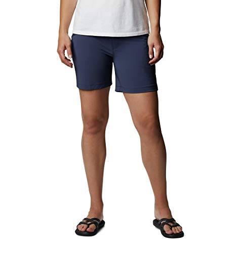 Columbia Peak to Point Pantalones Cortos de Senderismo, Mujer, Nocturnal, W16/L8