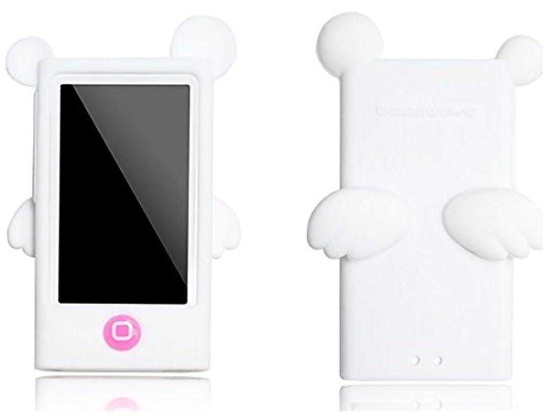 忠誠化合物全能天使 & 悪魔 Apple iPod nano 7 第7世代対応 デザイン シリコン カバー ケース (2012年 2015年) アップル (白天使)