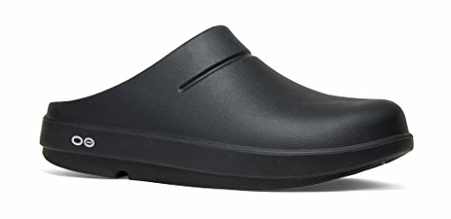 OOFOS Women's OOcloog Clog, Black/Matte Finish, 6 Womens US...