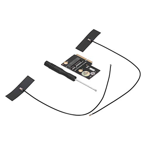 M.2 NGFF Key E al Adaptador Mini PCI-E de bajo Perfil, Adaptador Mini PCI-E a M.2 Durable para Office para Intel Ax200 para Empresas para Intel 9260