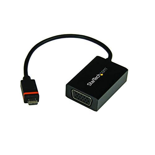 StarTech.com SLMPT2VGA - Conversor slimport/MyDP a VGA, Adaptador Micro USB a VGA para HP ChromeBook 11, LG Optimus G Pro/G2, 1080p