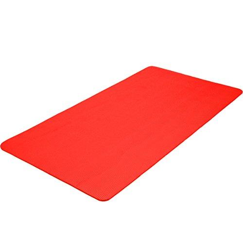 TecTake Tappetino Yoga Fitness Tappeto Aerobica Ginnastica Materassino - Disponibile in Diversi Colori e Misure -