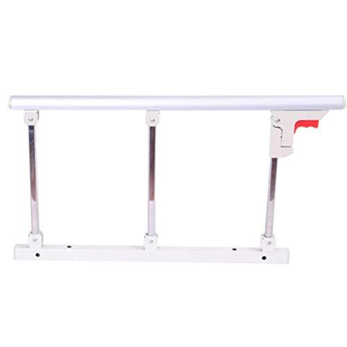 NYDZDM Opvouwbare Bed Rail Veiligheid Side Guard Voor Ouderen, Volwassenen Assist Handvat Handicap Bed Railing Ziekenhuis Metalen Grip Bumper Bar
