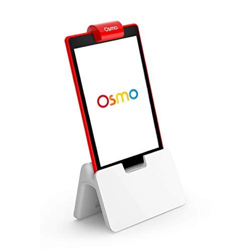OSMO 904-00007 Base-2 praktische Lernspiele-Kreatives Zeichnen & Problemlösung/frühzeitige Physik, Weiß/Rot