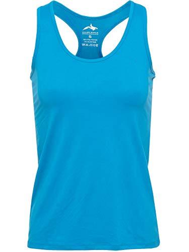 Killer Whale Ärmellose Sporthemden für Damen (Türkis, S DE)