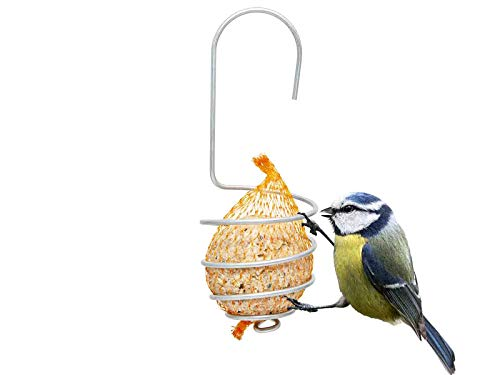 Zaundirekt 5er Set Premium Meisenknödelhalter zum Aufhängen I Praktische Halterung für Vogelfutter, Kerzen oder dekorative Gläser I Robust und Stabil I