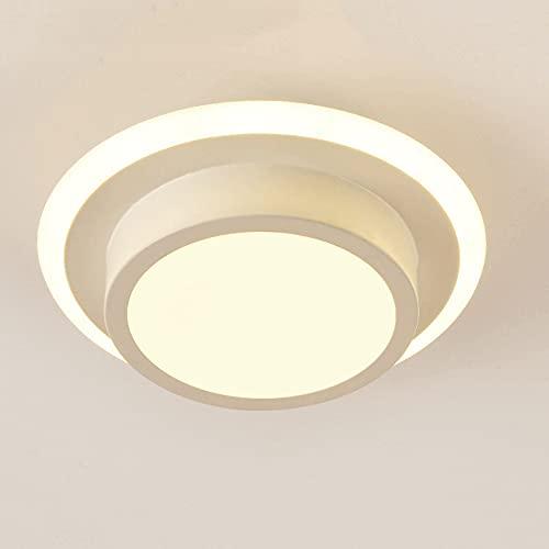 LXIANG Lámpara de techo empotrada LED simple, lámpara de techo, luces de techo de pasillo de entrada, pasillo, porche, restaurante, cocina, terraza, almacén, lámparas de área pequeña, expuestas y ocul