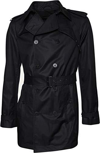 Drykorn Herren Trenchcoat Paris Black 48 / M