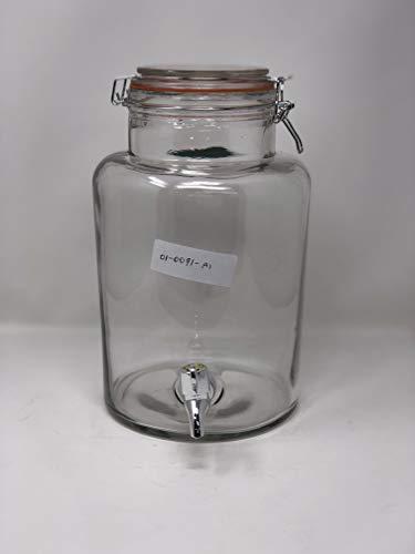 Dispensador de Bebidas de Vidrio de 5.4 Litros