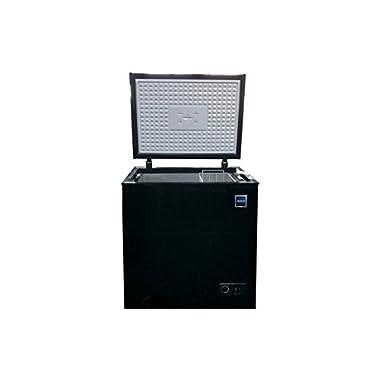 RCA FRF454-BLACK 5.1 Cubic Feet Chest Freezer