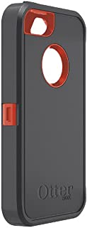 OtterBox Defender Series Case for iPhone 5 (Discontinued by Manufacturer) ( Not for iPhone 5C) Retail Packaging Bolt - Grey