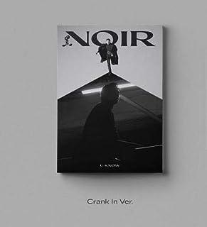 [ CRANK IN VER. 発送 ] U-KNOW - The 2nd Mini Album [ NOIR ] ユノ アルバム 韓国盤