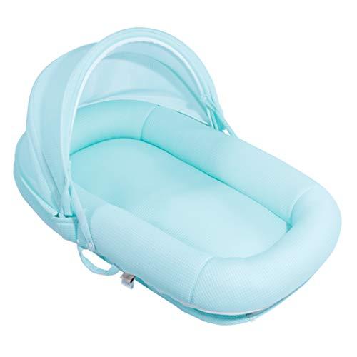 HUYP Bébé Snuggle Pod Nest Panier De Couchage pour Bébé Multi-Fonction Portable Jeu Coussin Garçon Fille 0-2 Ans Lit De Voyage