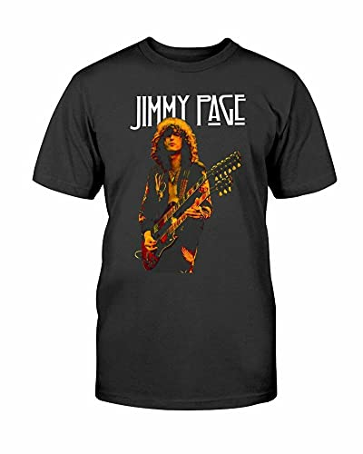 New! Rare! Jimmy Page T-Shirt Reprint tee Men All Size S to 5XL