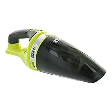 Ryobi P713 ONE + 18-Volt Lithium-Ion Cordless Hand Vacuum for Dust, Soot, Dirt, or Hair at Home or Onsite (Battery Not Included, Power Tool Only)