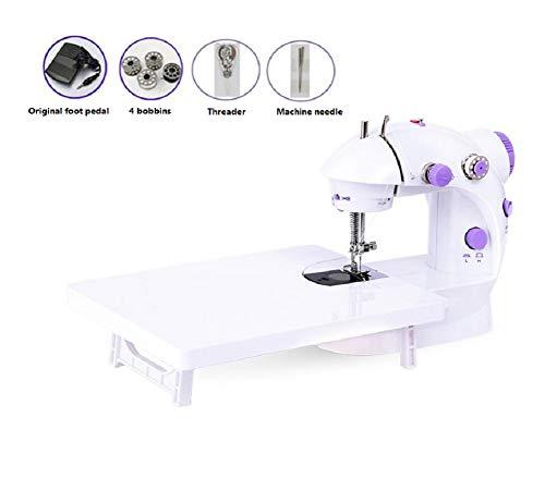 Naaimachine-elektrische overlocknaaimachine Klein huishoudelijk naaigereedschap Draagbare naaimachine Snelle naaimachine Automatische kleine naaimachine