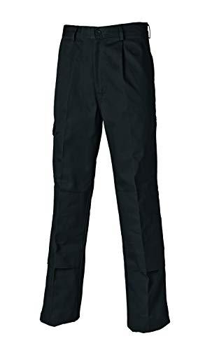 Dickies WD884 - Pantalones de Trabajo Para Hombre, Negro (BlackBK), 32R (32/32)