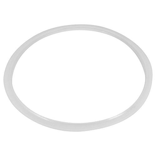 Fdit Ersatz Klar Silikon Dichtung Dichtring für Haus Schnellkochtopf Küche Werkzeug(24CM)