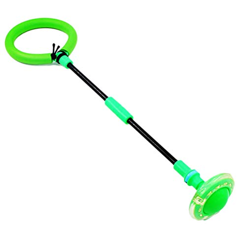 CaCaCook Blinkender Springender Ring, Blinkende Flash Jumping Ball Outdoor-spaß Spielzeug Bälle, Schwingen-Ball für Kinder Spielen, färben gelegentliches, Sport Übung Fitnessgeräte