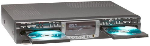 Philips CDR775BK Dual-Deck Audio CD Recorder (Discontinued by Manufacturer)