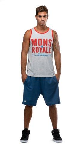 Mons Royale Short pour Homme en Laine mérinos Small Bleu - Bleu Encre