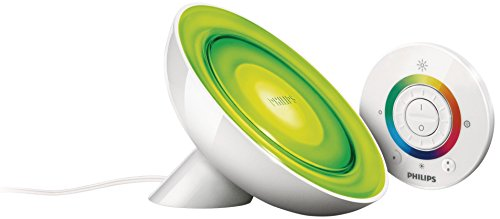 Philips Lighting LivingColors Bloom Lampada da Tavolo LED, 8 W, Bianco